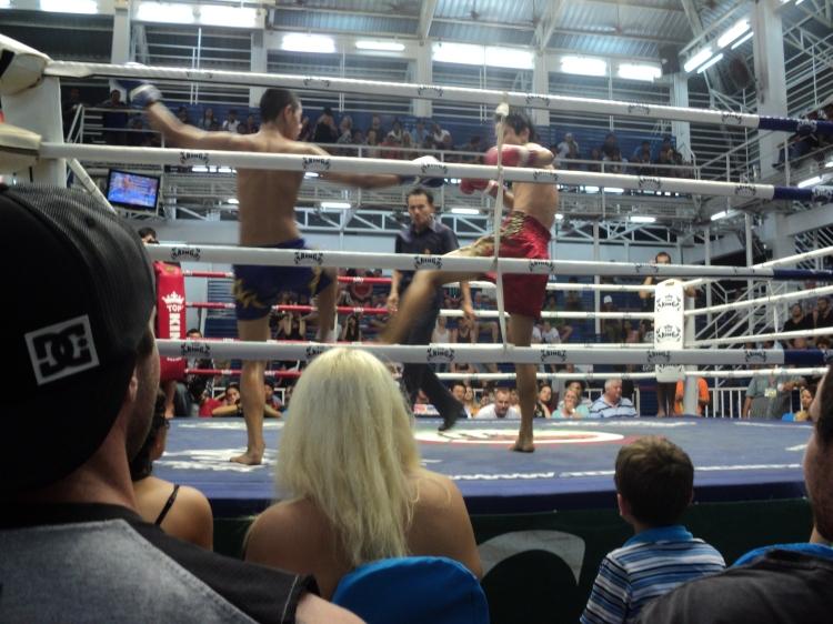 Muay Thai match!