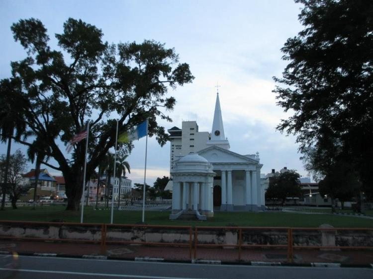 St. George's Church... built in 1818.