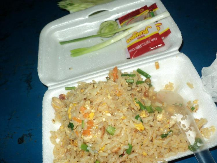 Nasi goreng ayam/chicken fried rice...