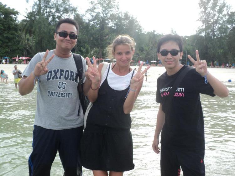 Dengan Liyana.. tour guide Russia.