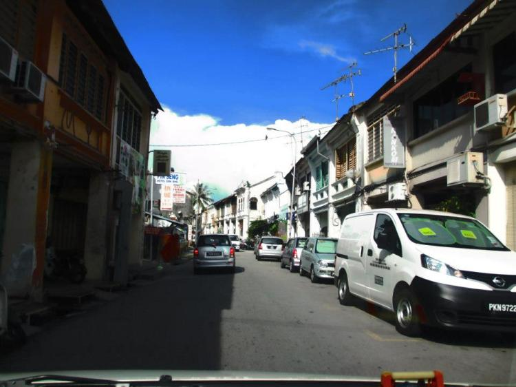 Love Lane from Chulia Street...