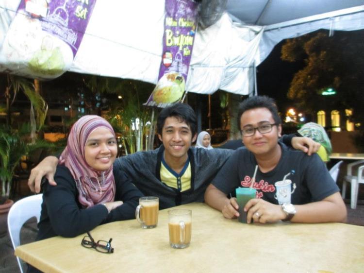 Aalia, Azmir and me.