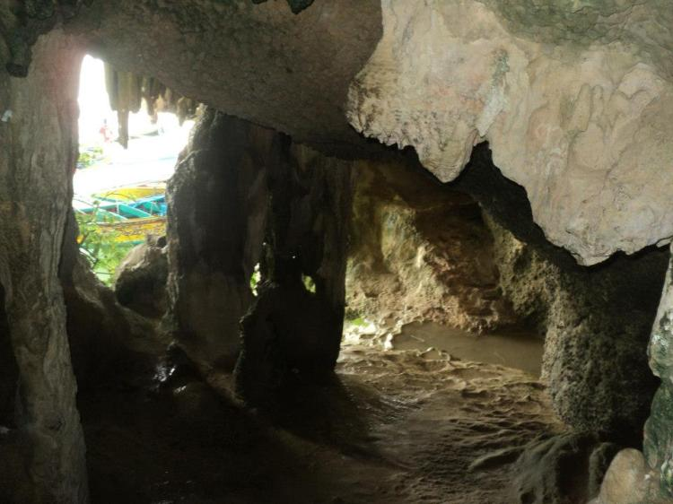 Small cave where we can explore on our own :)