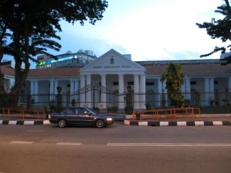 The Penang State Legislative Assembly building.