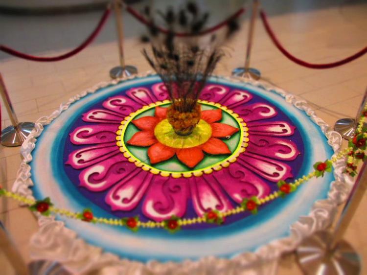Kollam, a decoration for deepavali...
