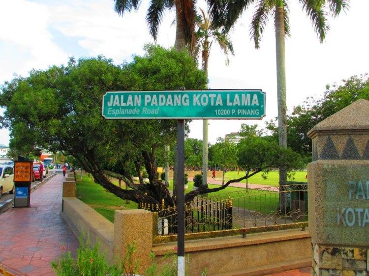 Jalan Padang Kota Lama/Esplanade Road
