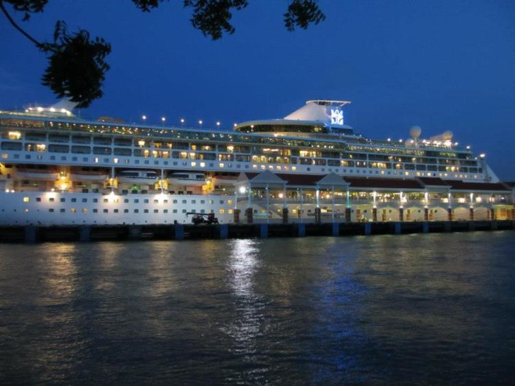 Legend of the Seas at the Swettenham Pier Cruise Terminal...