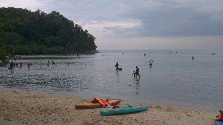 Blue Lagoon, Port Dickson, Malaysia...