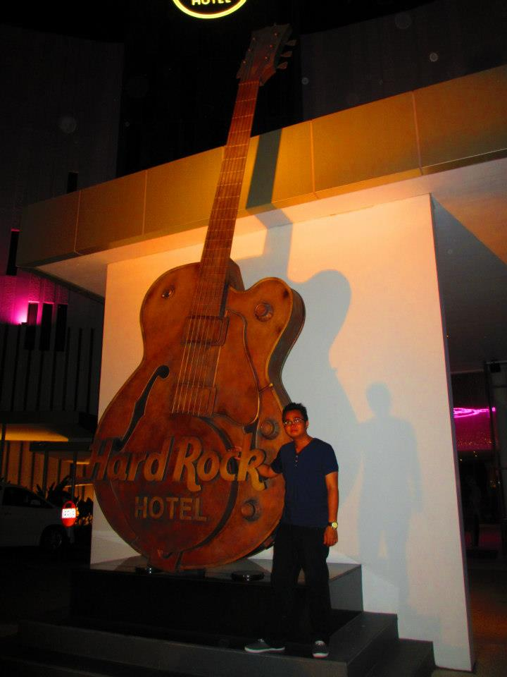 Me and the Hard Rock Guitar.
