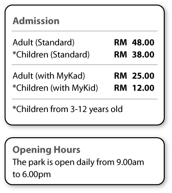 Admission price and Opening hours