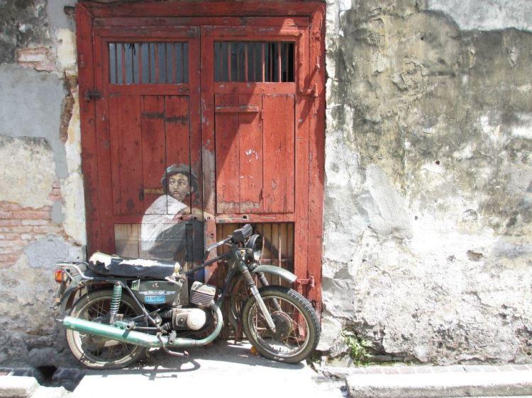 """""""Boy on a Bike"""" Mural..."""