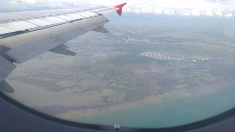 When you see this, you are approaching the Semarang Airport :)