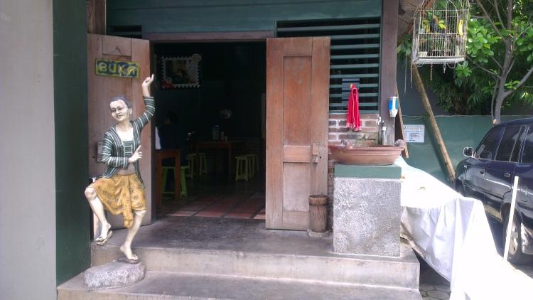 Welcome to Mbah Jingkrak restaurant- authentic Javanese food...