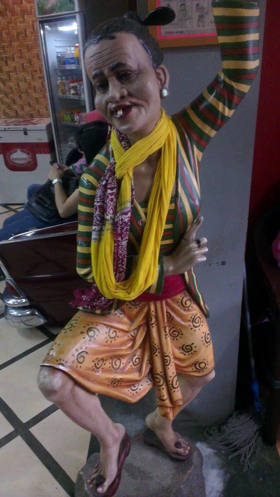 Glad I did not dream of Mbah Jingkrak! ;)