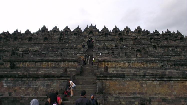 The Borobudur Temple...