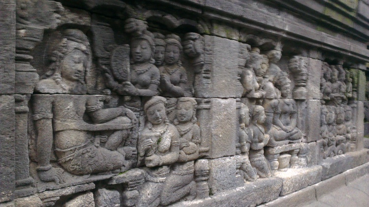 Another reliefs on the wall...