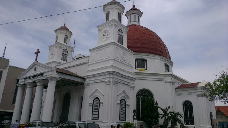 The Blenduk Church, built in 1753...