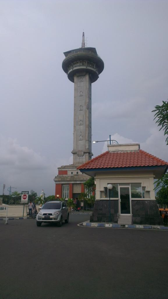 The Asmaul Husna tower...
