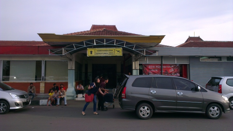 6.45 am, reaching the Achmad Yani International Airport, Semarang, Indonesia...