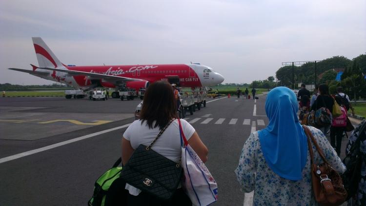 Going home :'( Bye-bye Semarang!