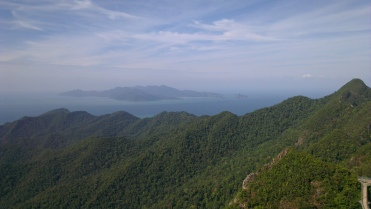 View of another small island near the Langkawi island...