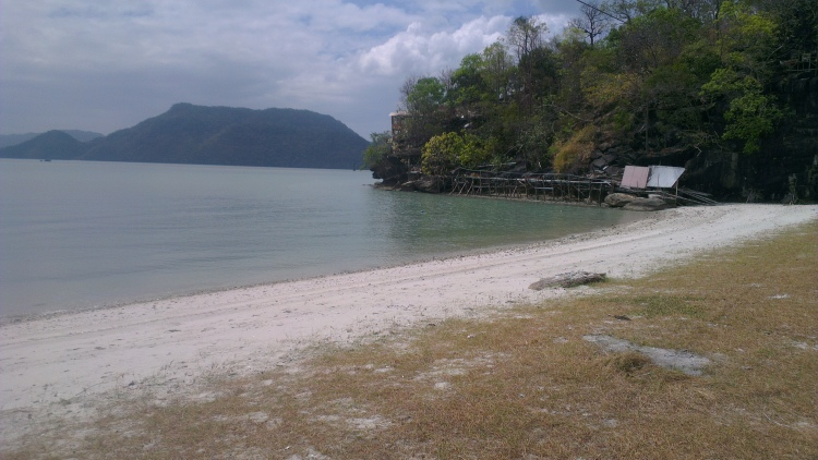 One of the secluded beaches in Langkawi... So quiet and calming...