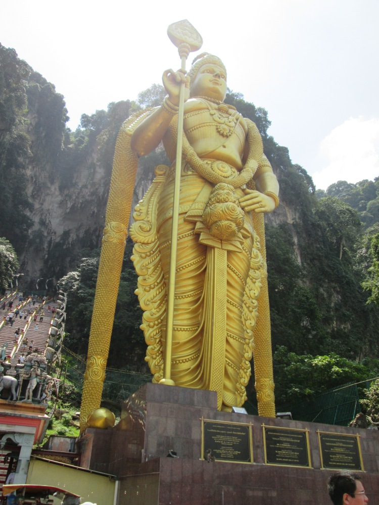 The tallest Lord Murugan statue in the world.