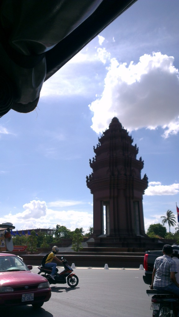 Independent Monument, one of the landmarks in Phnom Penh...