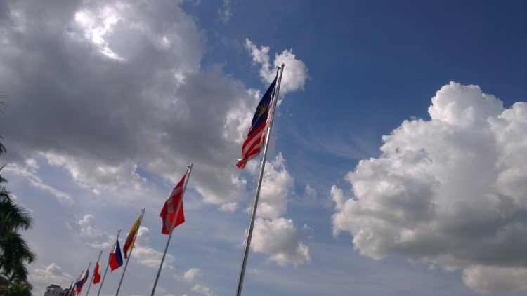 Jalur Gemilang - the Malaysian flag!