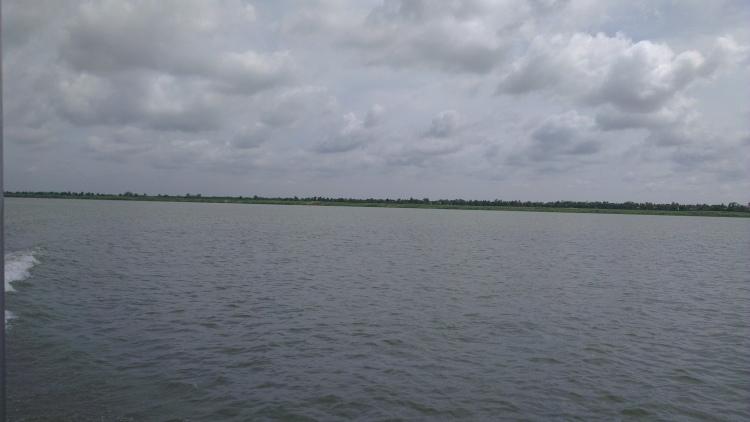 The Mekong River.