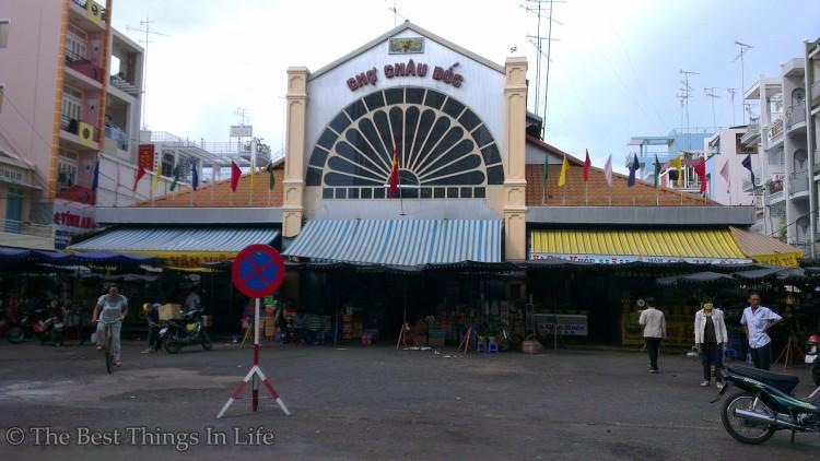 Chau Doc Market.