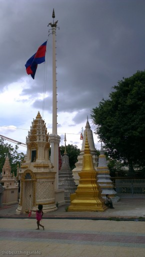The stupas at Wat Botum