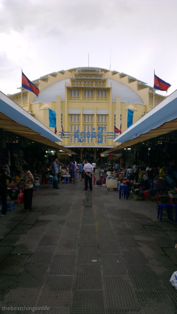 Central Market, Phnom Penh, Cambodia.