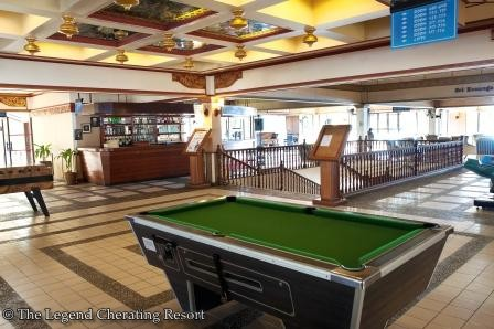 Lounge area with pool tables ;D