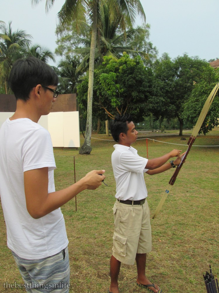 Don't worry if you have never played archery before. Training will be provided by the staff :)