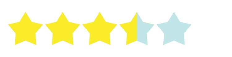 3.7 stars